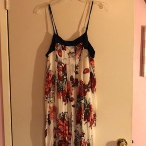 Floral full length never worn